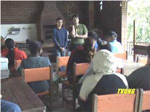 Dorfversammlung in Quatinga Velho