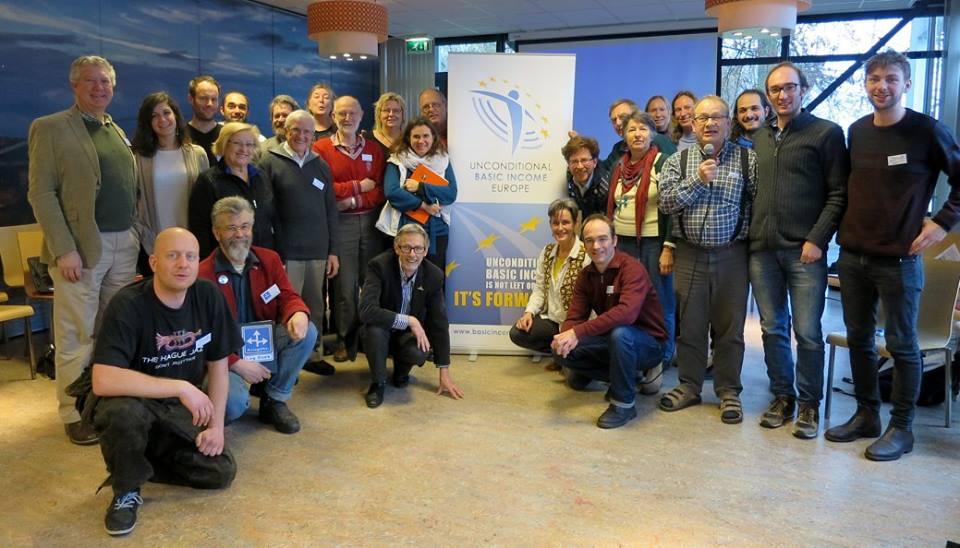 Foto von Teilnehmern der UBIE-Konferenz Ende Januar 2016 in Maastricht