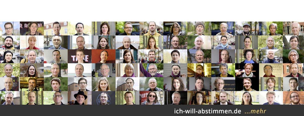 """Die Bürgerinitiative """"Omnibus für direkte Demokratie"""" startet die Kampagne """"Ich will abstimmen"""""""
