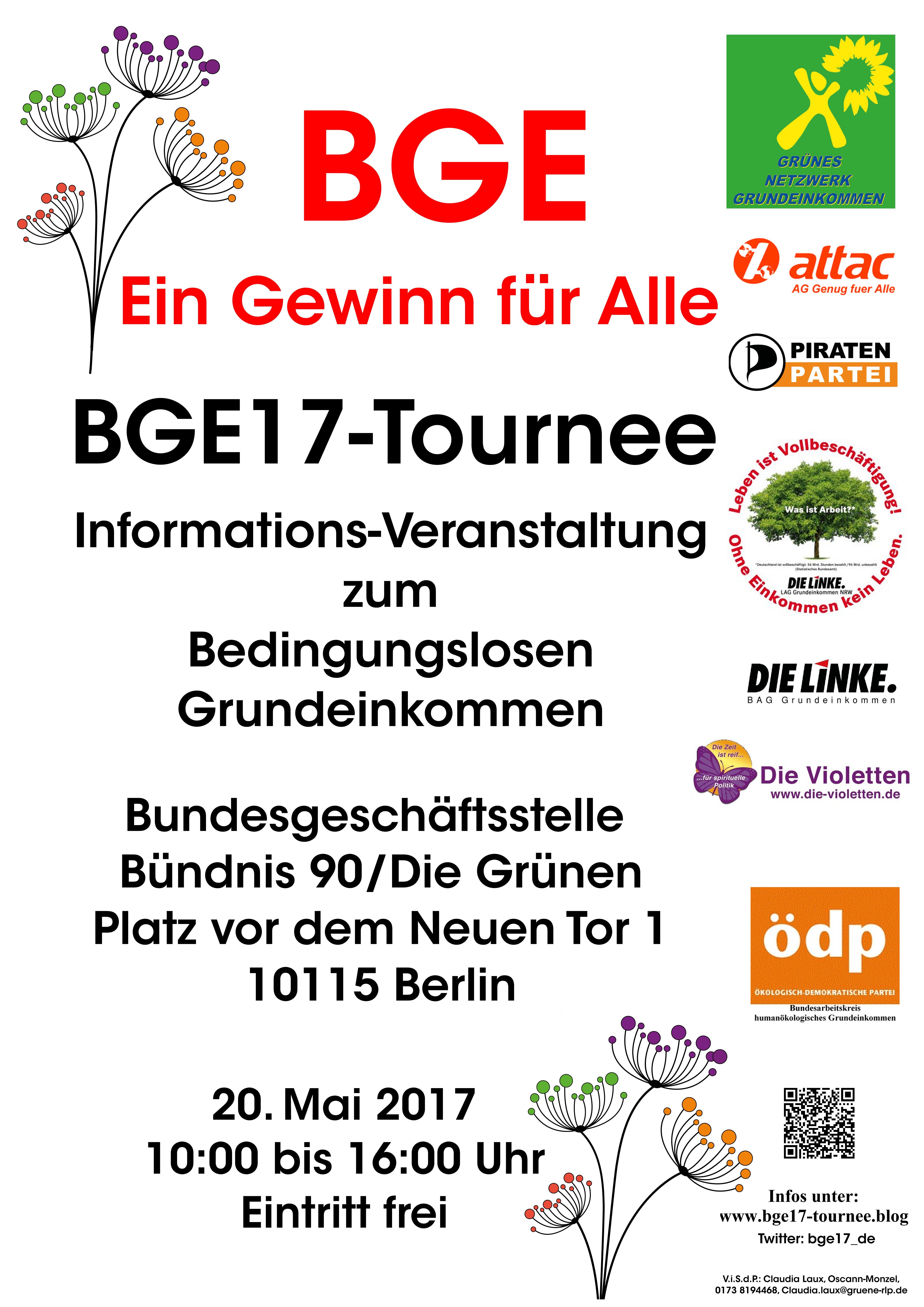 BGE17-Tournee: Zwischenbilanz der Kampagne