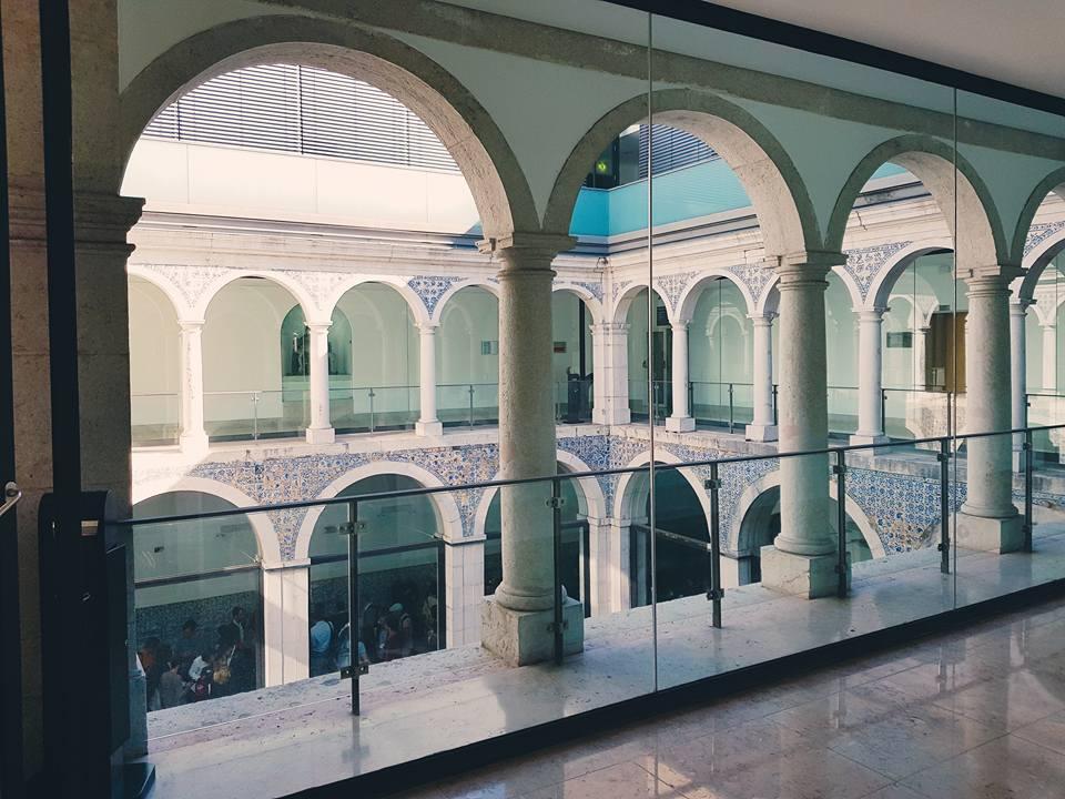 Innenhof des alten ISEG-Gebäudes