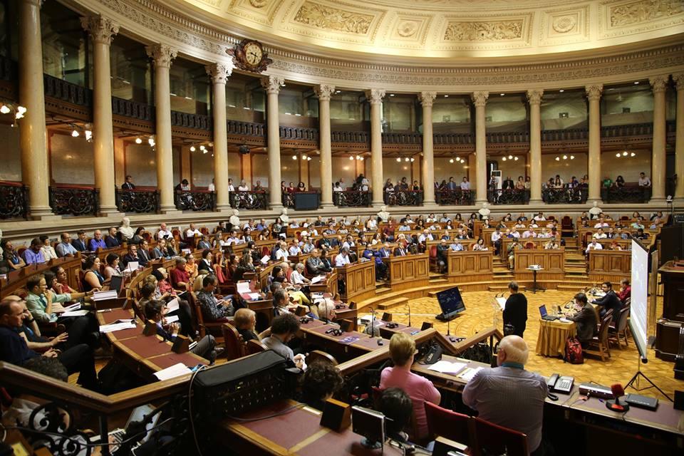 Plenarsaal des portugiesischen Parlaments