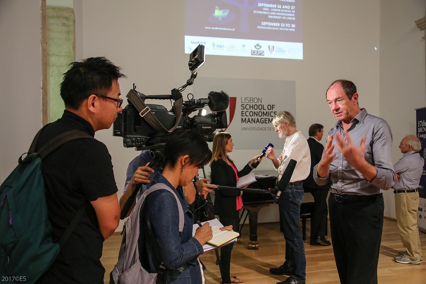 TV-Interview mit Enno Schmidt