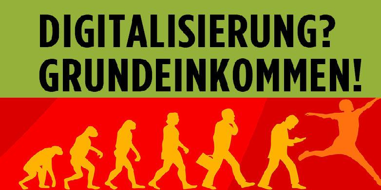 """Buchbesprechung: """"Digitalisierung? Grundeinkommen!"""""""