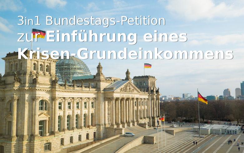 Viele Petitionen zum Krisen-Grundeinkommen in Deutschland: Wie weitgehend sind sie?