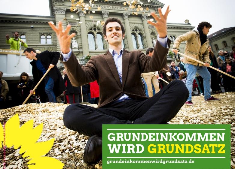 Grünes Netzwerk startet Kampagne #GrundeinkommenWirdGrundsatz