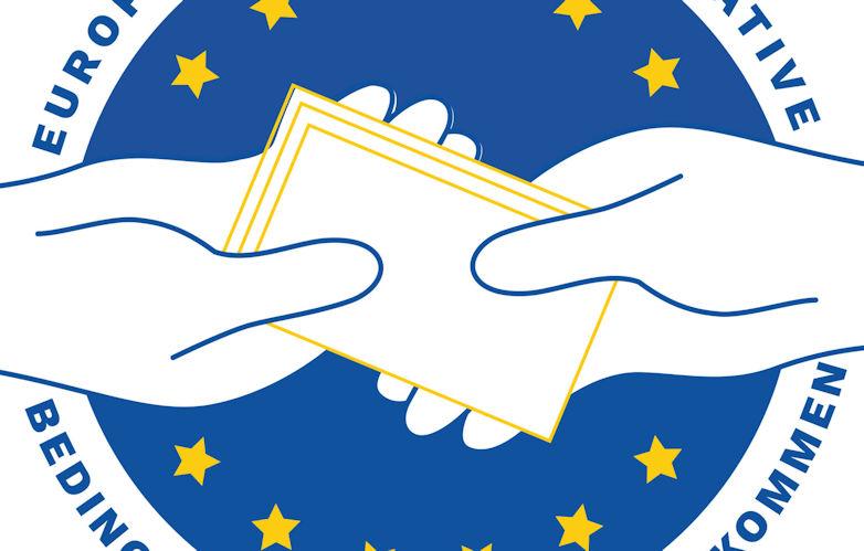 """Pressemitteilung: Europäische Bürgerinitiative """"Start bedingungsloser Grundeinkommen in der gesamten EU"""""""