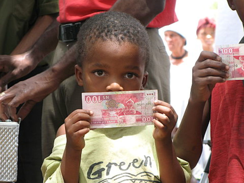 Grundeinkommen in Namibia – da geht noch was